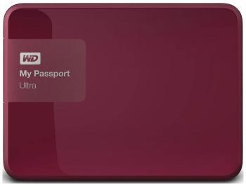 Внешний жесткий диск (HDD) Western Digital My Passport Ultra 1TB WDBDDE 0010 BBY-EEUE 2.5  Berry все цены