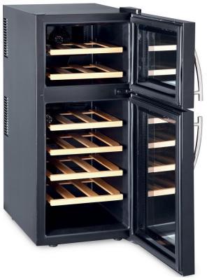 Винный шкаф Climadiff DOPIOVINO/1 винный шкаф climadiff cle 18 нержавеющая сталь