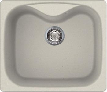 Кухонная мойка Smeg LSE 58 P кремовый (GRANITEK) мойка lr102 smeg