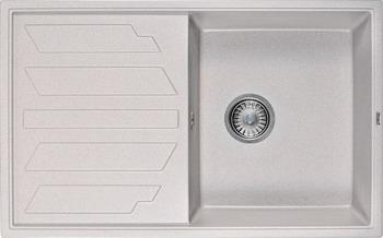 Кухонная мойка Weissgauff QUADRO 800 Eco Granit серый шелк  weissgauff quadro 420 eco granit графит