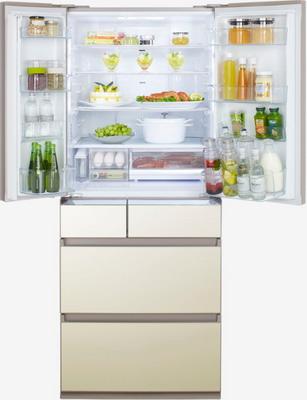 Многокамерный холодильник Panasonic NR F 610 GT N8 panasonic f vxl40