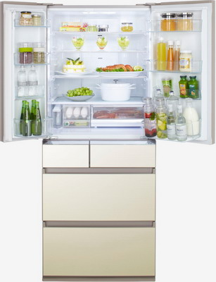 Многокамерный холодильник Panasonic NR F 610 GT N8 panasonic mj dj01stq соковыжималка