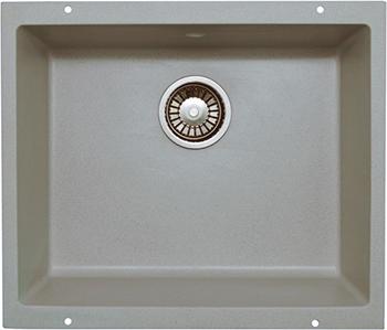 Кухонная мойка LAVA U.1 (SCANDIC серый ) кухонная мойка lava q 1 scandic серый