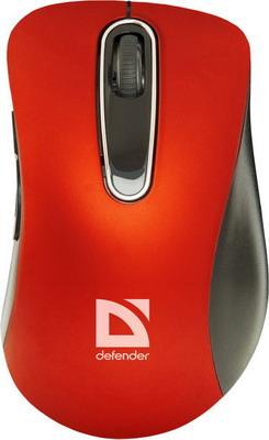 Мышь Defender Datum MM-075 красный 52076
