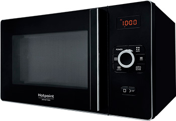Микроволновая печь - СВЧ Hotpoint-Ariston MWHA 25223 B печь свч hotpoint ariston mwha 2011 mw1 соло 20л мех бел черн