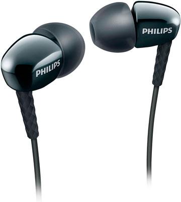 Наушники Philips SHE 3900 BK philips she 3590wt белый