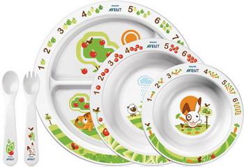Набор посуды Philips Avent SCF 716/00 набор для кормления детей philips avent scf 251 00