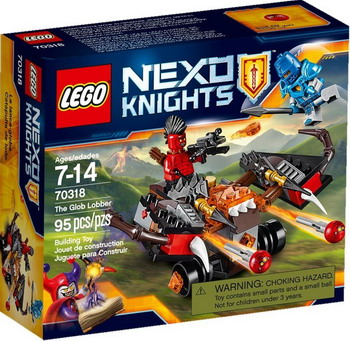 Конструктор Lego Nexo Knights Шаровая ракета 70318 knights of sidonia volume 6