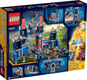 Конструктор Lego NEXO KNIGHTS ФОРТРЕКС - МОБИЛЬНАЯ КРЕПОСТЬ 70317 lego lego nexo knights 70331 мэйси – абсолютная сила