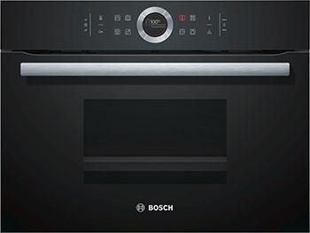Встраиваемая пароварка Bosch CDG 634 BB