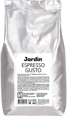 Кофе зерновой Jardin Espresso Gusto 1кг