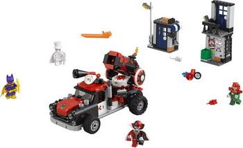 Конструктор Lego Batman Movie: Тяжёлая артиллерия Харли Квинн 70921 конструктор lego batman movie побег джокера на воздушном шаре 70900 l