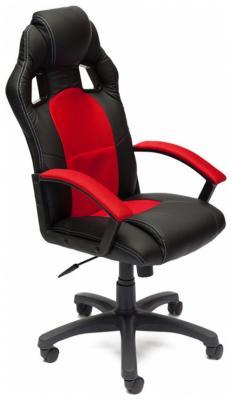 Кресло Tetchair DRIVER (кож/зам/ткань черный/красный 36-6/08) кресло tetchair runner кож зам ткань черный красный 36 6 tw 08 tw 12