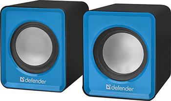 Акустическая система 2.0 Defender SPK 22 синий 65501 акустическая система 2 0 spk 22 black 65503 defender