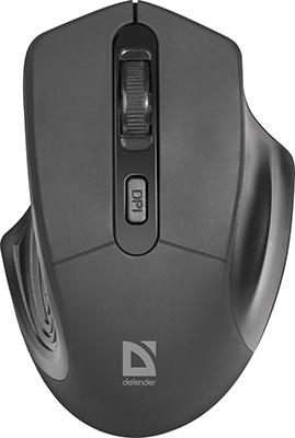 Мышь Defender Datum MB-345 черный 52345 цена и фото