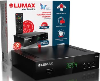 Цифровой телевизионный ресивер Lumax DV 3204 HD цена и фото