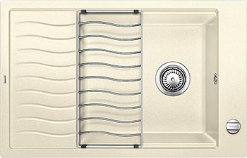 Кухонная мойка BLANCO ELON XL 6 S-F жасмин 524858 мойка кухонная blanco elon xl 6 s антрацит 518735