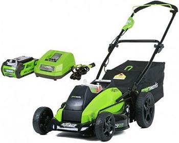 Колесная газонокосилка Greenworks GD 40 LM 45 K4 2500407 UB
