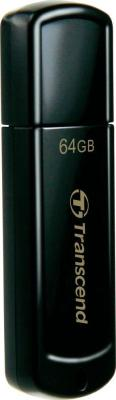 Флеш-накопитель Transcend 64 Gb JetFlash 350 TS 64 GJF 350 USB 2.0 чёрный 4g63 64
