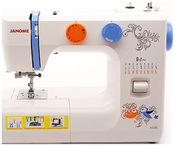 Швейная машина JANOME 1620 S швейная машинка janome sew mini deluxe