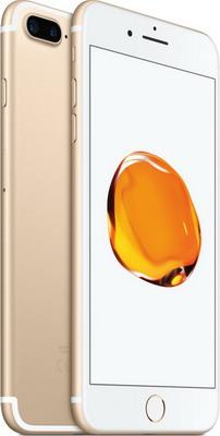Мобильный телефон Apple iPhone 7 Plus 128 Gb Gold (MN4Q2RU/A) kajsa carbon fiber aluminum coated pc back shell for iphone 7 4 7 gold