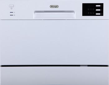 Компактная посудомоечная машина DeLonghi DDW 07 T Corallo посудомоечная машина delonghi ddws09f quarzo