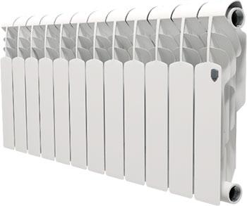 Водяной радиатор отопления Royal Thermo Vittoria 350 - 12 секц. royal thermo vittoria 500 10 секций