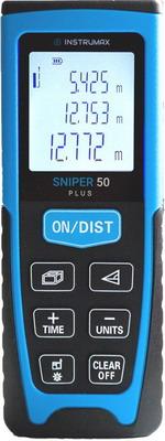 Лазерный дальномер Instrumax SNIPER 50 PLUS дальномер bosch plr 50 c 50 м 603672220