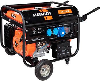Электрический генератор и электростанция Patriot 474101588 GP 7210 LE генератор бензиновый patriot gp 5510