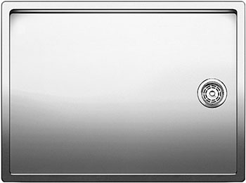 Кухонная мойка BLANCO CLARON 550-T-IFнерж. сталь зеркальная полировка  blanco claron 500 u нерж сталь зеркальная