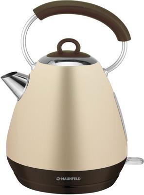 Чайник электрический MAUNFELD MFK-660 BG бежевый с перламутром чайник maunfeld mfk 660bg