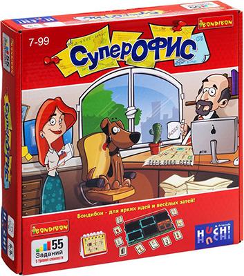 Настольная игра Bondibon Супер Офис ВВ0960 игра bondibon детектор лжи bb1182 196484