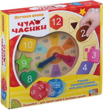 Настольная игра Bondibon Чудо-часики ВВ1450 bondibon игра антивирус bb0847 sg520ru