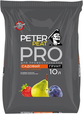 Грунт PETER PEAT Садовый Универсальный линия ПРО 10л грунт универсальный peter peat овощной 50 л