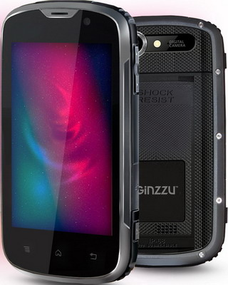 Мобильный телефон Ginzzu RS 71 D black смартфон ginzzu s5050 black