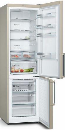 Двухкамерный холодильник Bosch KGN 39 XK 3 OR цена и фото