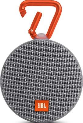 Портативная акустическая система JBL CLIP 2 GRAY динамик jbl портативная акустическая система jbl flip 4 цвет squad
