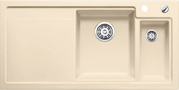 Кухонная мойка BLANCO 524143 AXON II 6 S (чаша справа) керамика жасмин PuraPlus с кл.-авт. InFino axon очки elegance ii
