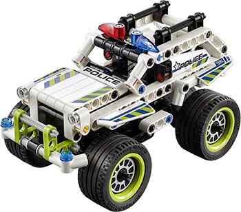 Конструктор Lego Technic Полицейский патруль 42047-L lego lego technic 42070 лего техник аварийный внедорожник 6х6