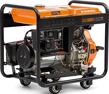 Электрический генератор и электростанция Daewoo Power Products DDAE 6000 XE электрический генератор и электростанция daewoo power products gda 3500 e
