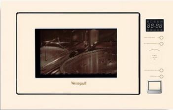 Встраиваемая микроволновая печь СВЧ Weissgauff HMT 553 lg mb65w95gih white свч печь с грилем