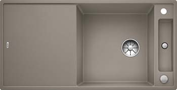 Кухонная мойка BLANCO AXIA III XL 6 S InFino Silgranit серый беж ( доска стекло) 523517 кухонная мойка blanco axia iii xl 6 s f infino silgranit белый доска стекло 523529