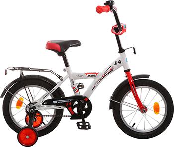 Велосипед Novatrack 14'' ASTRA белый 143 ASTRA.WT5 велосипед novatrack 14 urban чёрный 143 urban bk8