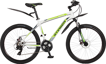 Велосипед Stinger 26'' Aragon 16'' белый 26 SHD.ARAGON.16 WH7