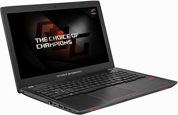 Ноутбук ASUS ROG GL 553 VD-DM 203 T (90 NB0DW3-M 09690) ноутбук asus fx 553 vd dm 1137 90 nb0dw4 m 19850