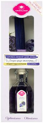 Арома-диффузор CRISTALINAS Mikado для жилых помещений с ароматом лесных ягод 180мл парфюм для дома cristalinas cristalinas natural wood палочки ротанговые натуральные 7 шт