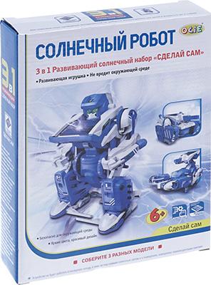 Набор OCIE ''Солнечный робот'' с мотором на солнечной батарее 3 в 1 1CSC 20003249 плетение из бумажных веревочек набор 3 солнечный мак