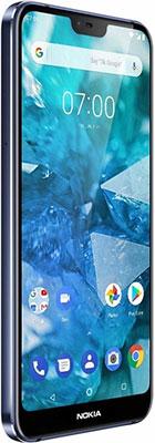 Смартфон Nokia 7.1 Dual Sim синий корейский язык самоучитель