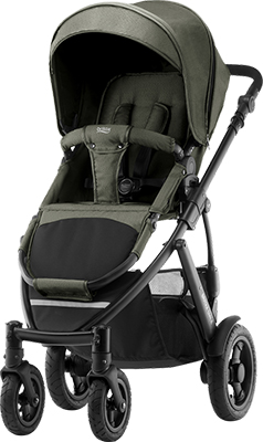 Коляска Britax Roemer Smile 2 Olive Denim 2000027969 коляски 2 в 1 smile line platinum 16 2 в 1
