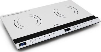 Настольная плита TESLER PI-26 белая индукционная электроплитка tesler pi 22 чёрный